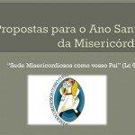 Divulgado proposta diocesana para Ano da Misericórdia