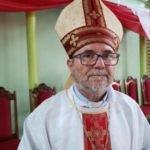 Bispo da Diocese de Parintins celebra missa na Paróquia de Raiz da Serra