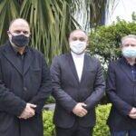 Dom Gregório Paixão se reúne com os pastores Carlos Carnavalli e Vladimir Soares